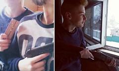俄15岁小情侣开枪自尽,只因……