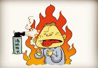 """夏天上火""""内火""""居多 食补运动可""""降火"""""""