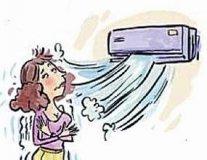 小心!高温天猛吹空调 吹得颈椎病复发
