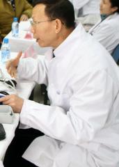 福建省举行大型义诊