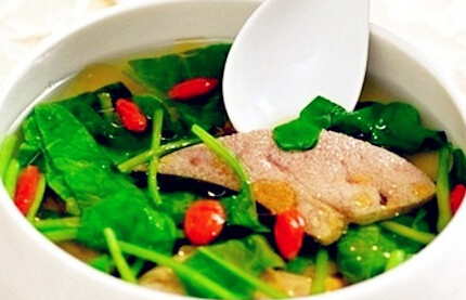猪肝菠菜汤的做法小妙招