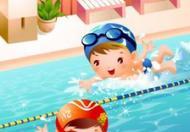 宝宝游泳团购:蛙泳膝盖技术