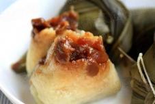 葡萄干桂圆粽子