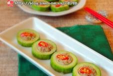 牛肉豆腐笋瓜盅