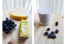 蓝莓香蕉smoothies