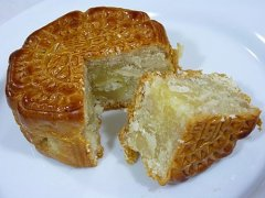 苏式椰丝月饼