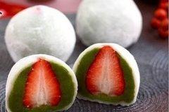 抹茶草莓大福