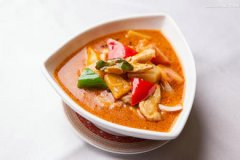 泰国红咖喱鸡