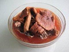 红菇土鸡汤