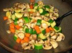 意大利瓜炒蘑菇