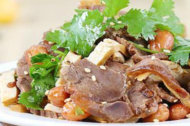 香辣牛肉豆腐