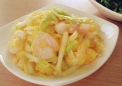 虾仁韭黄炒蛋