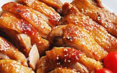 蜂蜜洋葱腌鸡肉