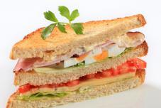 鸡肉三明治