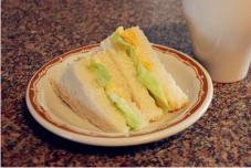 迷你玉米鸡蛋三明治