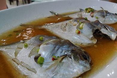 【图解】清蒸小食谱做法鲳鱼,正宗清蒸小家常幼儿园清华鲳鱼小图片