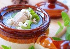 薏米苦瓜汤