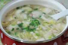 羊肉白菜汤