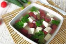 豆腐猪血汤
