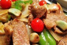 腊八蒜炒牛肉
