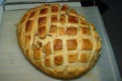 黑小麦乡村面包