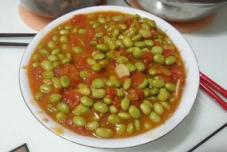 西红柿炒鸡蛋豌豆