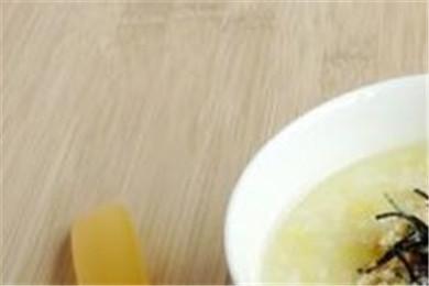 海苔肉松粥