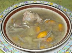 波罗蜜排骨汤