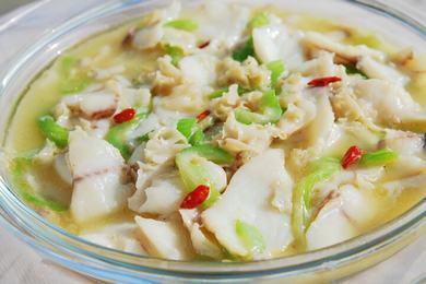 丝瓜鱼片汤