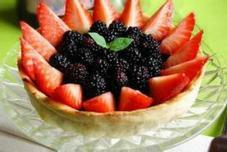 桑葚草莓派