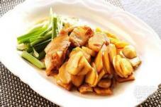 肉片炒茨菇