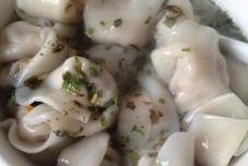 紫菜虾皮汤水饺