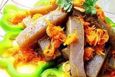 双色海米茸烩魔芋