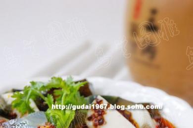 皮蛋拌豆腐2