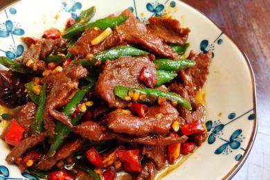 小炒牛肉4