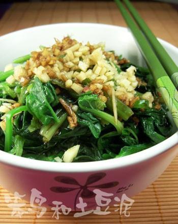 姜汁菠菜4