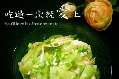 腐竹木耳拌黄瓜4
