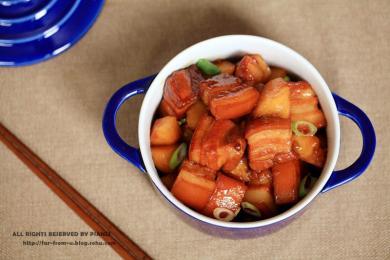 红烧肉炖土豆2