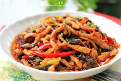 素炒鱼香肉丝4
