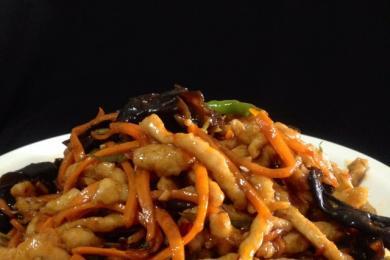 素炒鱼香肉丝3