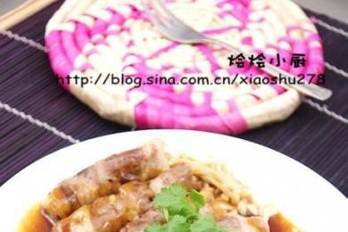 肥牛金针菇卷1