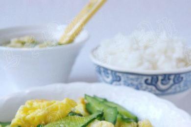 黄瓜炒鸡蛋2
