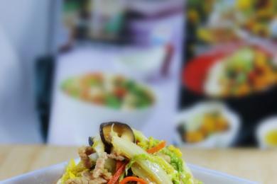 三丝炒大白菜1