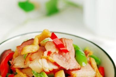 萝卜干炒腊肉1