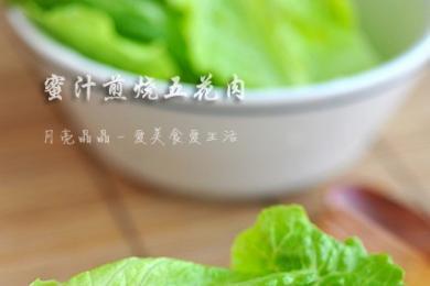 五花肉烧粽子4