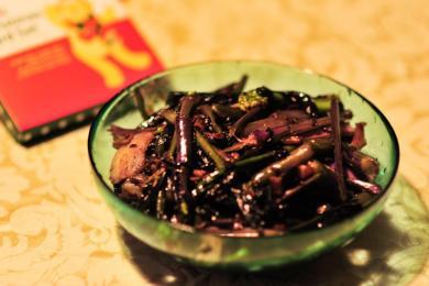 清炒红菜薹3