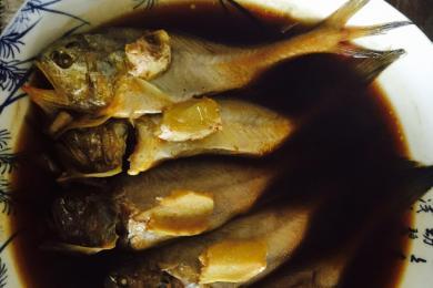 咸菜卤蒸梅童鱼4