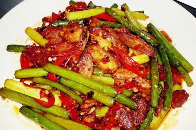 蒜香回锅肉1