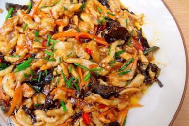 素炒鱼香肉丝2