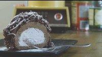 【食用系列】奶油蒙布朗巧克力蛋糕卷(⊙ω⊙)